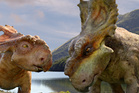 A scene from the film, 3D Walking with Dinosaurs. Photo / Fox