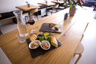 The duck and goose platter and the tarte tatin from Petit Bocal cafe in Sandringham. Photo / Dean Purcell