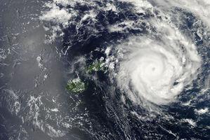 Tropical Cyclone Ian strikes Tonga. Photo / NASA