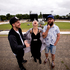 Kiwi musicians P-Money, Alisa Xayalith and Rodney Fisher at Western Springs the location for this years Big Day Out. Photo / Dean Purcell