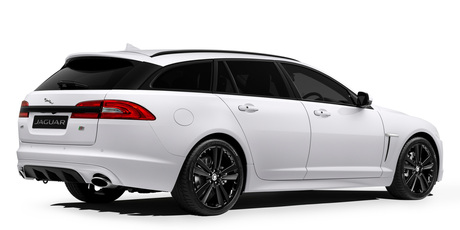 Jaguar New Zealand have revealed the new XF Black edition sportbrake