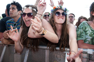 Overall crowds were well-behaved at this year's Big Day Out. Photo / Natalie Slade