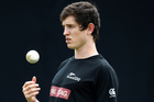 New Zealand cricketer Adam Milne. Photo / AP