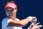 Li Na's name would add prestige to an Auckland tennis academy. Photo / Getty Images