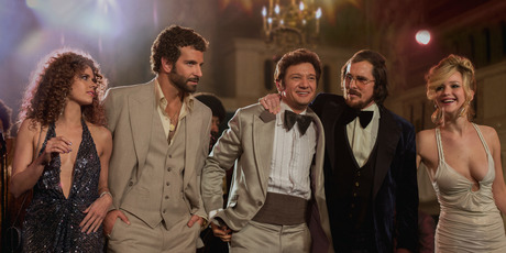 The cast of 'American Hustle'.