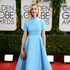 Caitlin FitzGerald arrives at the 71st annual Golden Globe Awards. Photo / AP