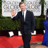 Aaron Eckhart arrives at the 71st annual Golden Globe Awards. Photo / AP