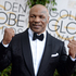 Mike Tyson arrives at the 71st annual Golden Globe Awards. Photo / AP