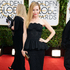 Leslie Mann arrives at the 71st annual Golden Globe Awards. Photo / AP