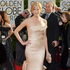 Anna Gunn arrives at the 71st annual Golden Globe Awards. Photo / AP
