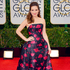Tina Fey arrives at the 71st annual Golden Globe Awards. Photo / AP