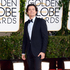 Orlando Bloom arrives at the 71st annual Golden Globe Awards. Photo / AP