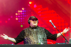 Kim Dotcom's party at Vector Arena was cancelled due to electoral law.