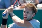 Michael Venus and India's Yuki Bhambri beat Spaniards Roberto Bautista Agut and Daniel Gimeno-Traver in round one of the Aussie Open. Photo / NZ Herald