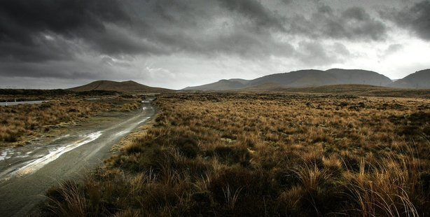 The Desert Road area at Waiouru