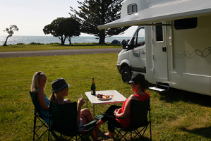 The days of lazy afternoons at a seaside camping ground may be numbered. File photo / Sarah Ivey