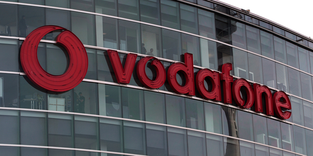 The Vodafone building on the corner of Halsey St and Fanshawe St in central Auckland. Photograph by Brett Phibbs