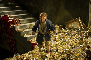 The Hobbit: The Desolation of Smaug is up for three pieces of Oscar gold.