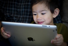 iPads have joined playdough and crayons as educational tools at preschools. Photo / Sarah Ivy