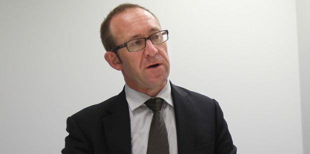 Andrew Little says he will campaign hard and try new techniques in New Plymouth. Photo / APN