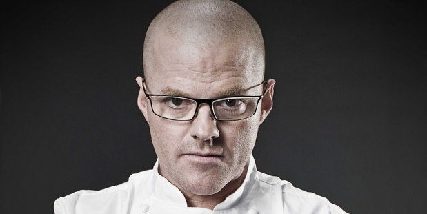 Heston Blumenthal. Photo / AP