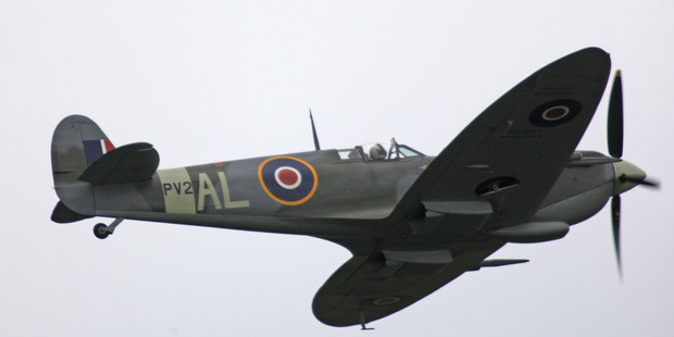 The  Supermarine Spitfire fighter which will take to the skies  as part of a major air event next month.