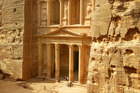 The ancient city of Petra deserves a two-day trip to do it justice. Photo / Alan Gibson