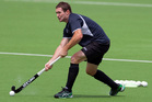 Veteran attacker Phil Burrows scored the decisive goal to beat England 4-3. Photo / NZPA / David Rowland