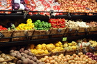Fruit and vegetable prices rose 0.5 per cent in March, with cheaper apples and kumara. On an annual basis prices rose 1.5 per cent with more expensive tomatoes, oranges and mandarins. Photo / APN
