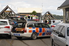 Emergency services at Opua wharf after a dinghy was run down by yacht and a man died.