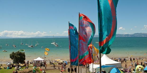 Splore will take place at Tapapakanga Regional Park in February. Photo / Jason Burgess