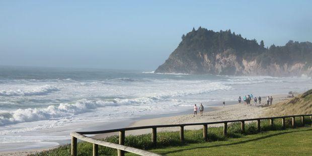 Whiritoa Beach.