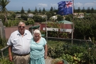 Rodney and Helen Hurley love the views from their Matai St property. Photo/Bevan Conley
