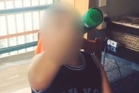 Video of boy sculling drink sparks probe