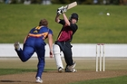 Tom MacRury scored his maiden century for Bay of Plenty against Poverty Bay.Photo/File