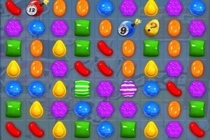 A scene from the addictive game, Candy Crush. Photo / Creative Commons