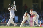 Angelo Mathews hit 91. Photo / Getty Images