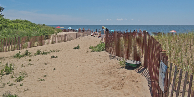 Connecticut's popular Hammonasset Beach State Park offers a boardwalk and more than 3.2 kilometres of beach. Photo / Creative Commons image by Flickr user rickpilot_2000