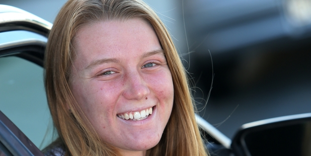 Anna Goodman who played a vital role in keeping a child alive after coming across a car crash. Photo / Michael Cunningham
