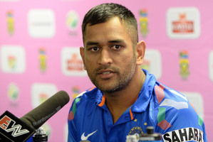MS Dhoni. Photo / Getty Images