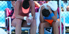 View: Photos: Heat at Aussie Open