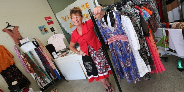 Jenny Hill loves the vibrancy of Tutukaka and says business has been going so well at her shop, Vintage a Go-Go, that she plans to be open year-round. Photo / Michael Cunningham