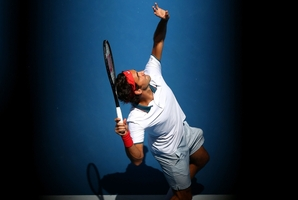 The Roger Federer style that has impressed all in the first week of the Australian Open. Photo / Getty Images