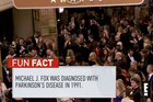This 'fun fact' flashed up on screen during E!'s Golden Globes coverage.