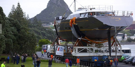 The 50m Sloop Ohana, which Fitzroy completed in 2012 was commissioned by a European buyer in 2010.