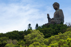 Head to Lantau Island, a 50-minute boat ride from downtown Hong Kong, and go hiking in the hills presided over by the giant Tian Tan Buddha. Photo / Thinkstock