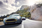 Aston Martin's V8 Vantage N430 ... a novel paint job and a pure sporting experience.