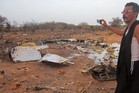 Little is left of the Air Algerie aircraft that crashed during a storm killing at least 116 people. Photo / AP