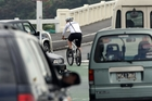 Cyclists are adrift in a non-category somewhere between pedestrians and cars and not particularly welcome in either realm. Photo / Dean Purcell