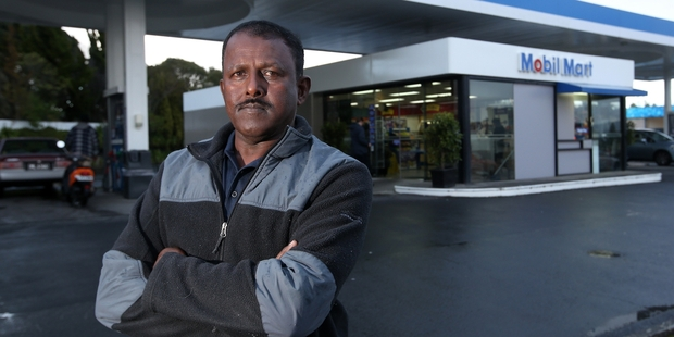 Parmesh Raman is taking legal advice after his 'public humiliation' at an Avondale petrol station. Photo / Jason Oxenham
